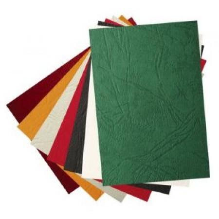 Coperti carton imitatie piele A4 250 g/mp pentru indosariere